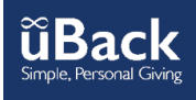 uBack is a simple, personal giving tool for your mobile phone